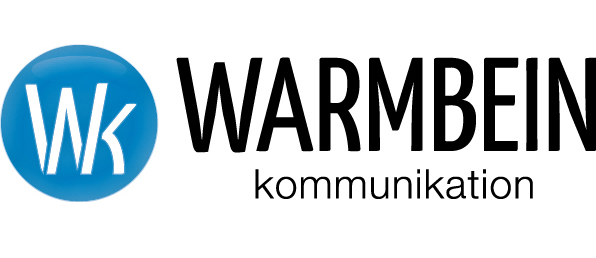 Logo Warmbein Kommunikation